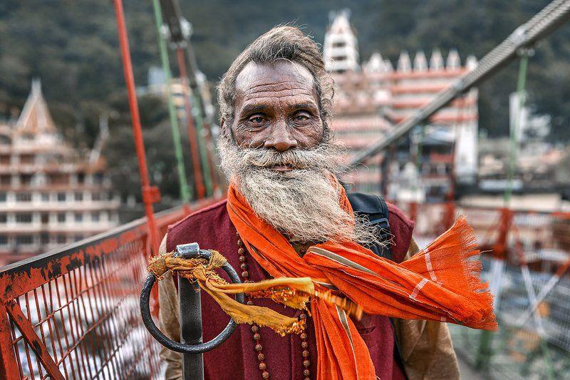 путешествие, популярное, ришикеш, портрет, индия, азия, индостан,  история, сюжет, концепт, репортаж, момент Взгляд Ришикешаphoto preview