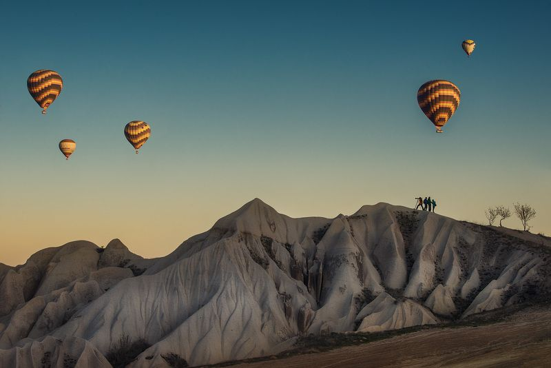 каппадкия, воздушные шары Воздушные шары в Каппадокииphoto preview