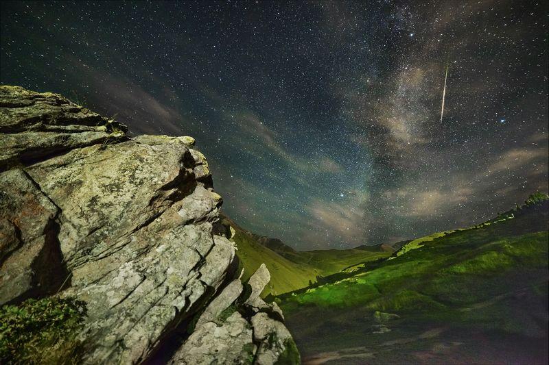 казахстан, бао, персеиды, звездопад, ночь, горы Августовские Персеиды.photo preview