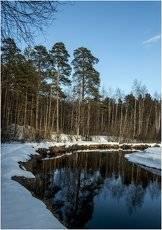 Зимний пейзаж ***Winter landscape