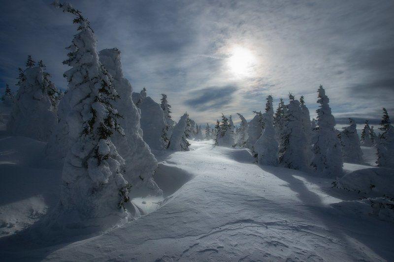 таганай, урал, горы, метео, зима Путь солнцаphoto preview