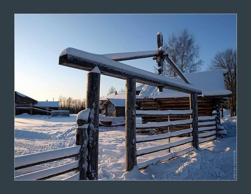 пейзаж, зима, музыка зима. январь. Малые Корелыphoto preview