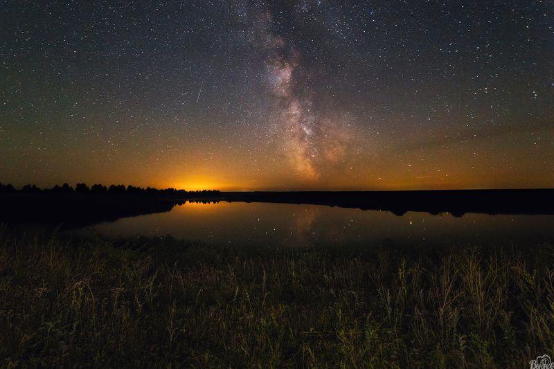 млечный путь,космос,звезды,моршанский район,тамбовщина,моршанск,небо, Млечный Путь в Моршанском районеphoto preview