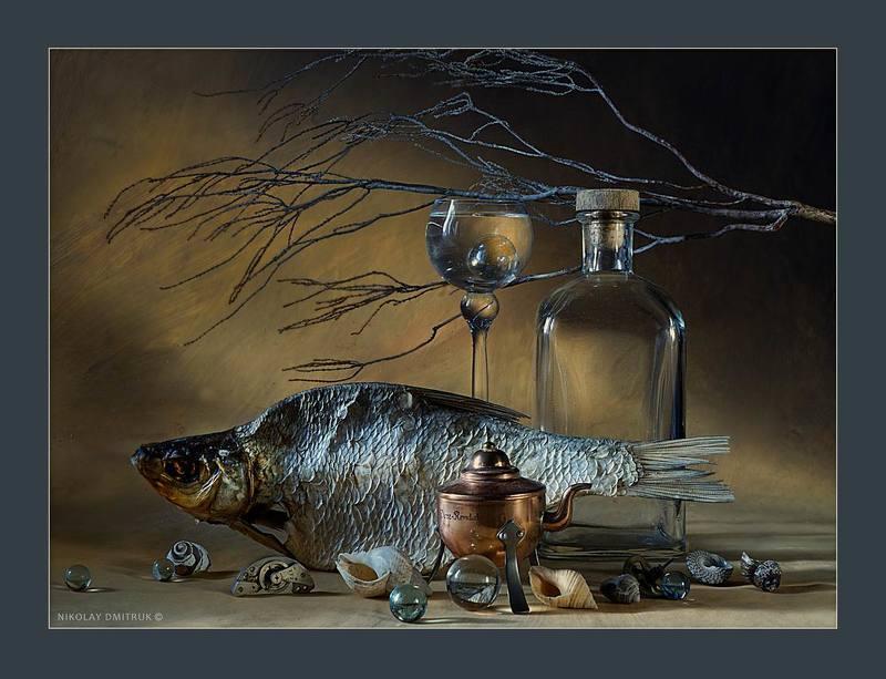 натюрморт, музыка большой рыб. 2016photo preview