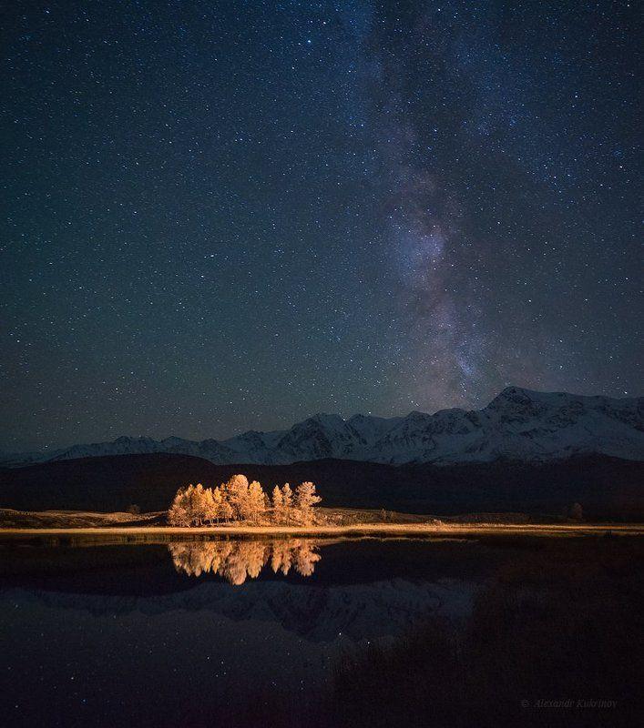 алтай, ночь, джангысколь, звёзды, млечный путь Алтайская ночь...photo preview