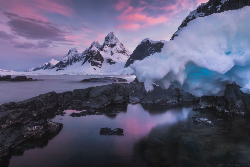 Антарктида Seven sisters ridgephoto preview