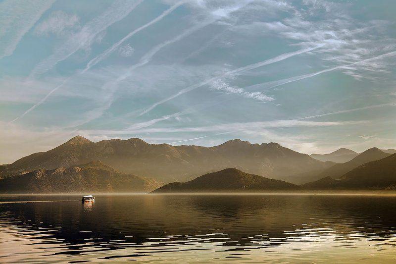 landscape, nature, montenegro, love, dawn, sea, lake, mountains, горы, природа, путешествие, озеро, черногория Skadarsko lakephoto preview