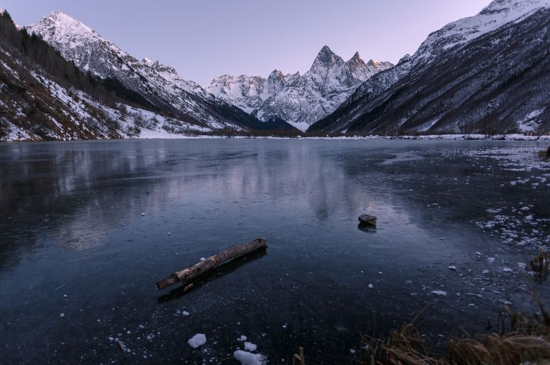карачаево-черкесия,туманлы-кель,теберда Туманное озеро...photo preview