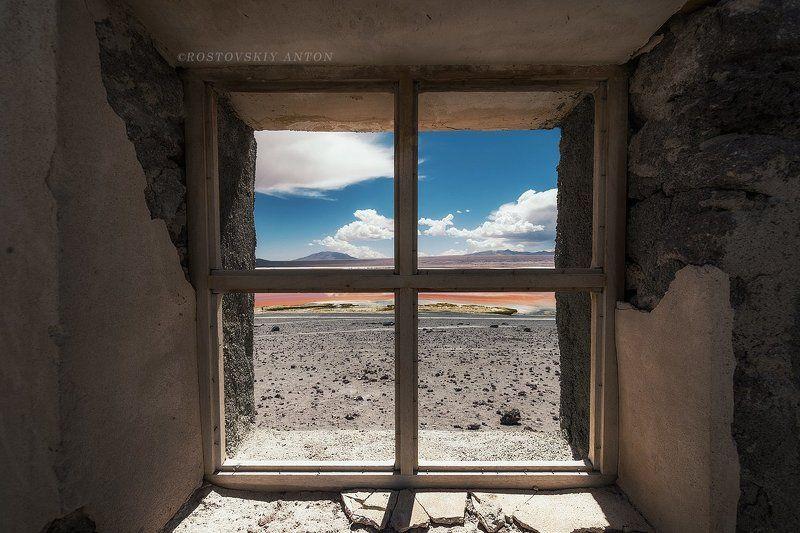 Боливия, окно Взгляд на мирphoto preview