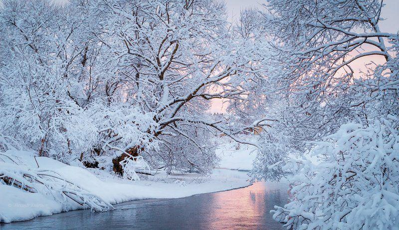зима,рейзаж,река,вязьма Январский зефир...photo preview