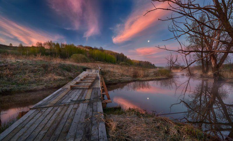 По мосточку к облакам...photo preview