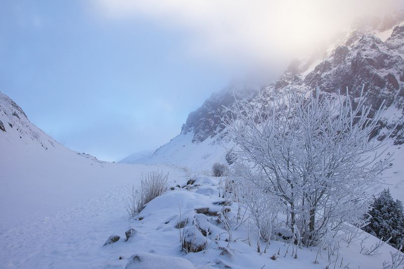 казахстан, горы, туйык су Декабрьские сюрпризы.photo preview