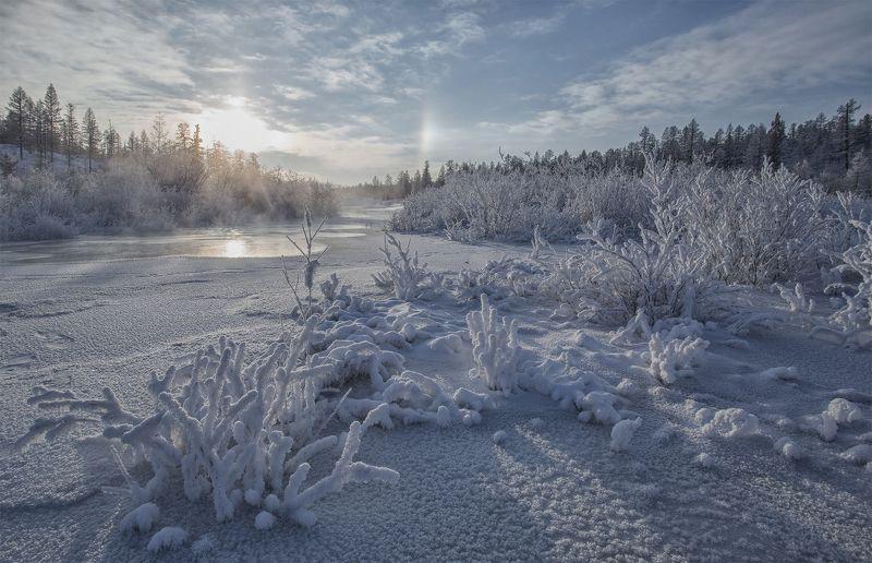 зима, декабрь, якутия, нерюнгри О зиме...photo preview