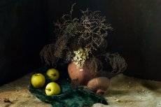 Поздние яблочки....