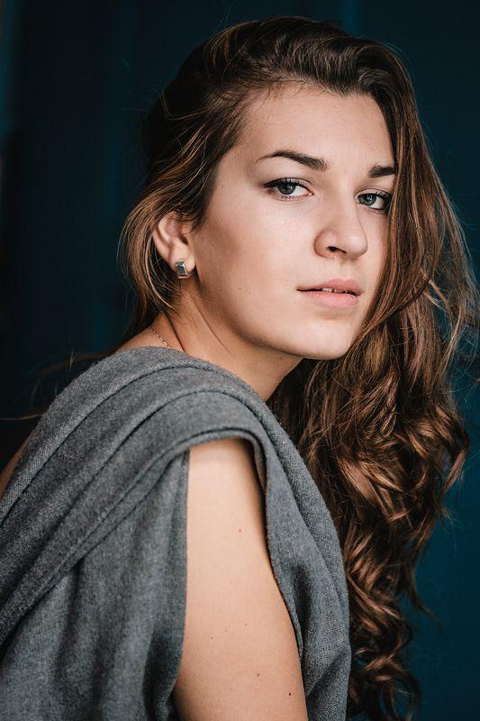 девушка портрет модель студия annromanovska girl portrait beautiful model Nataliephoto preview