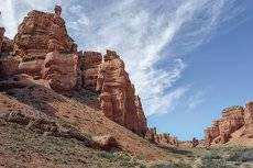 Чарынский каньон, долина замков.