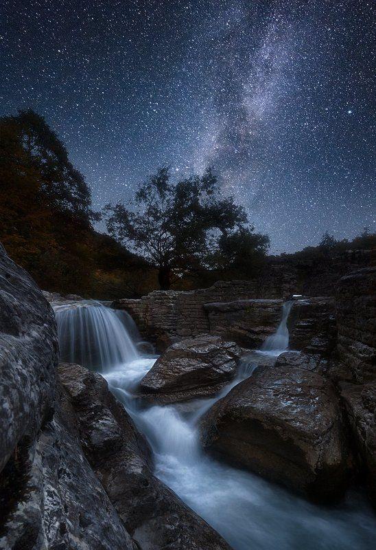 Ночь над каньоном Кинчхаphoto preview