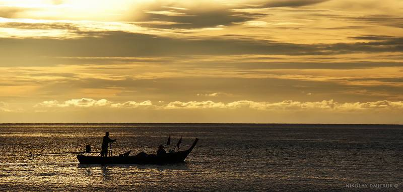 рыбаки. возвращение. Ko Lantaphoto preview