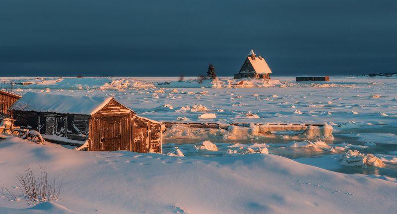 рабочеостровск, остров, белое море ...photo preview
