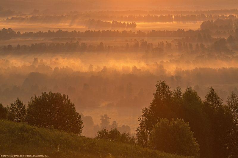 #алтай #сибирь #siberia #павел_филатов #pavel_filatov #filatovpavelaltai #туман #рассвет #лучи #красногорье #красногорское #предгорья #fog #foothills #sunrise #rays #altai_krai Алтайское саториphoto preview