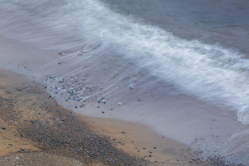 охотское море, колыма, прибой, сумерки, морской пейзаж, магадан Диалог с моремphoto preview