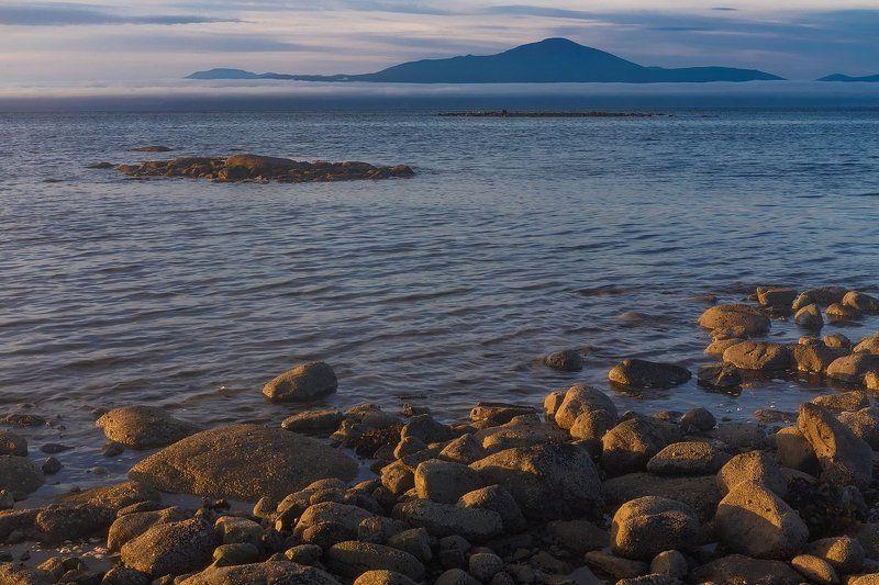 магадан, колыма, охотское море, заповедник магаданский, магаданская область Валуны, увидевшие закатphoto preview