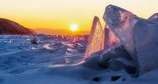 На Байкале в январе