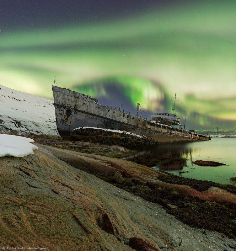 aurora borealis, заполярье, север Northen Lightsphoto preview