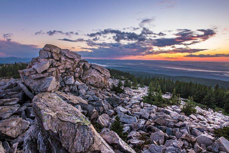 Закат на Зюраткульском Хребтеphoto preview