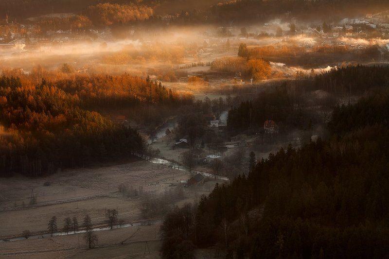 landscape,canon,mist,light,autumn Promised Landphoto preview