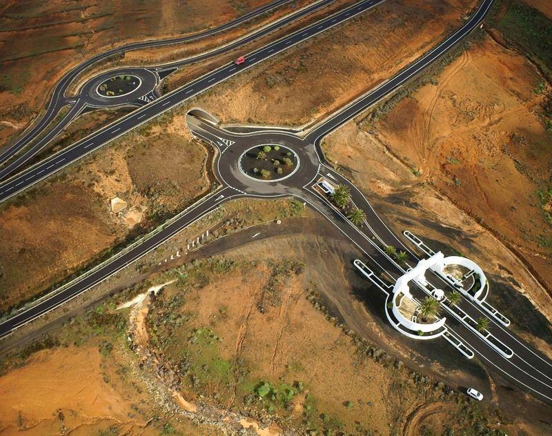 Испания, Канарские острова, Канары, Лансароте, дороги, трасса, шоссе  Трасса L-1photo preview