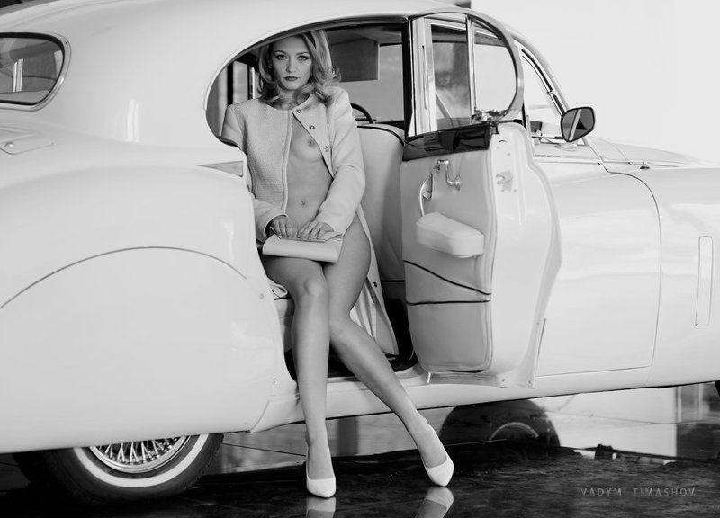 art, beauty, nude, print, portrait, vadym timashov, black and white, cars *****photo preview