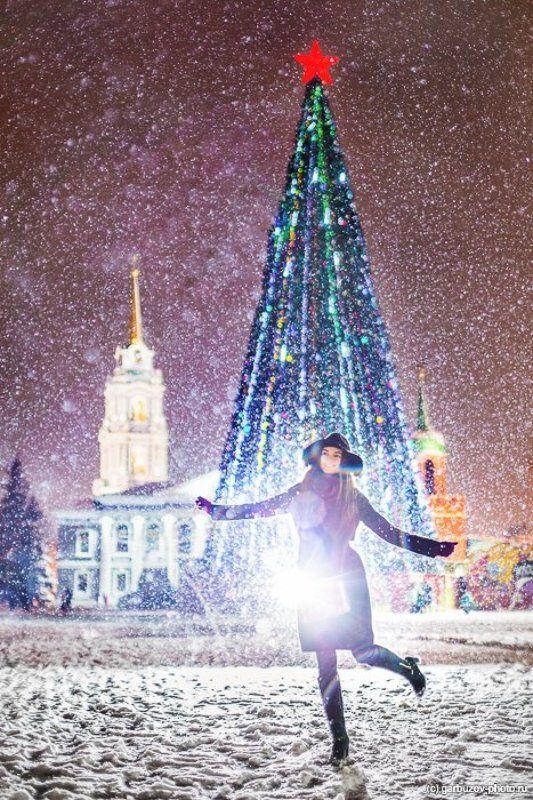 Снегопад в Тульском Кремлеphoto preview