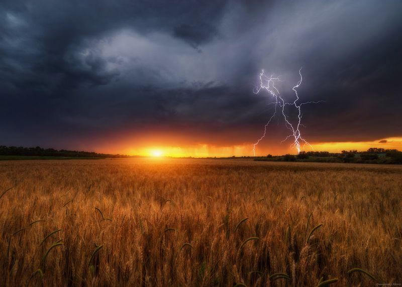 И гром,и молния,и солнечный закат...photo preview