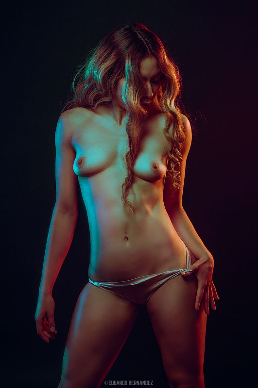 fine art, nude art, nude, red, hdzphoto,  The Color Theory series.photo preview