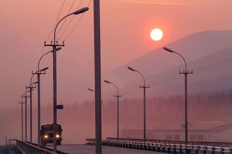 колыма, трасса, магаданская область На трассе.photo preview