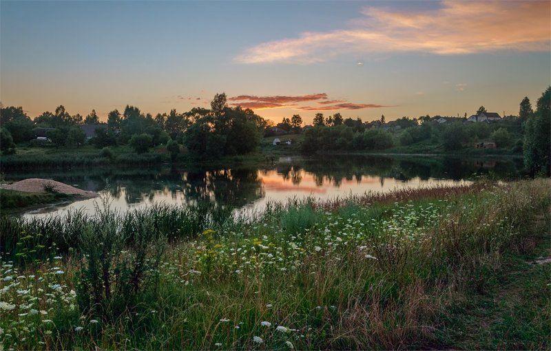 nevant60 пейзаж природа закат Вечерняяphoto preview