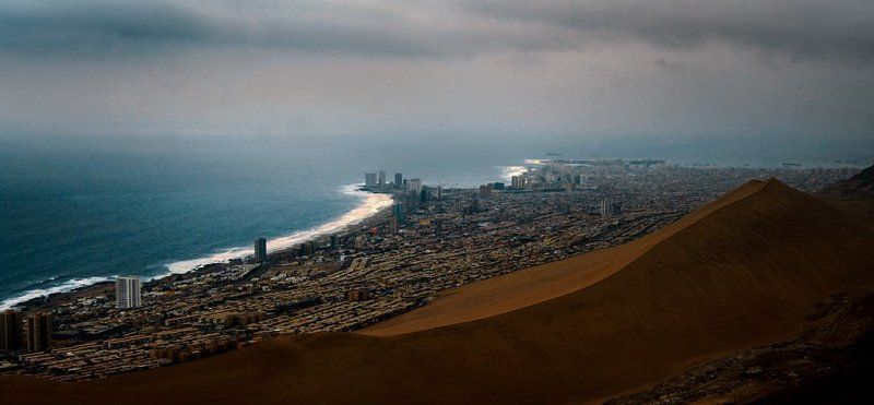 iquique, 2011 Sand wavephoto preview