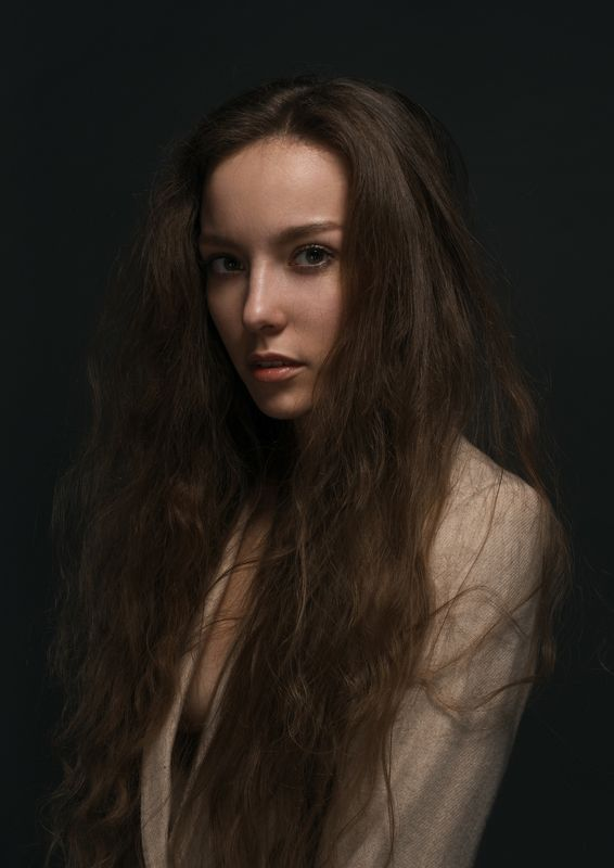hair, portrait, studio, model Rufinaphoto preview