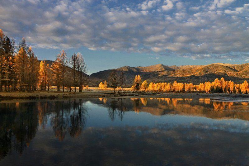 алтай, горный алтай, джазатор, беляши, утро, осень Джазаторphoto preview