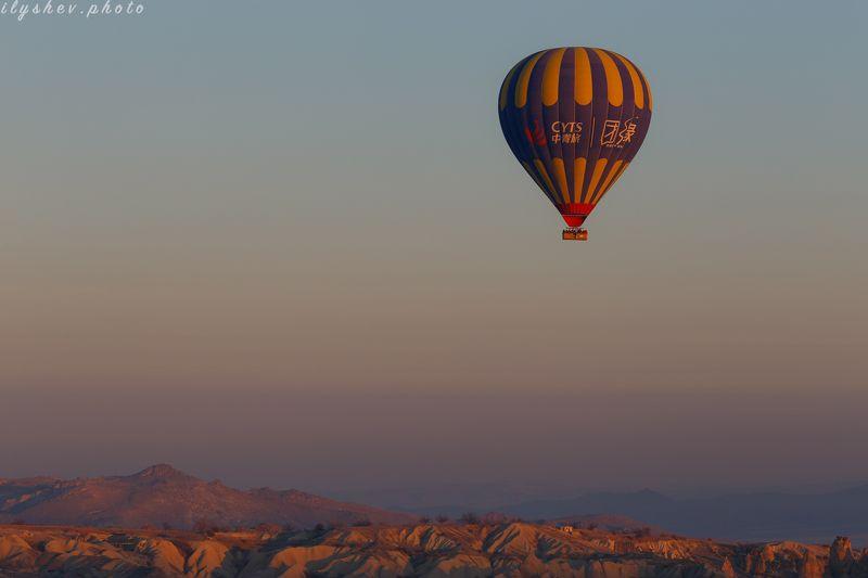 турция, каппадокия, воздушные шары, путешествия, утро, рассвет утро в Каппадокииphoto preview