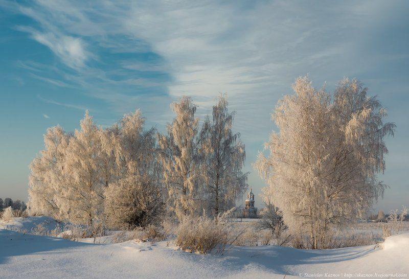 пейзаж, снег, мороз, зима Зефирная нежностьphoto preview