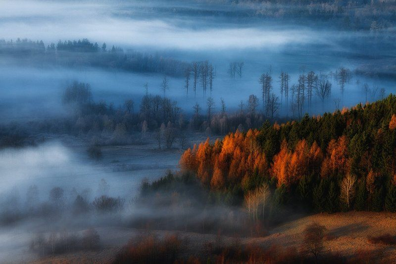 landscape,canon,mist,light,autumn At The Gates of The Valley IIphoto preview
