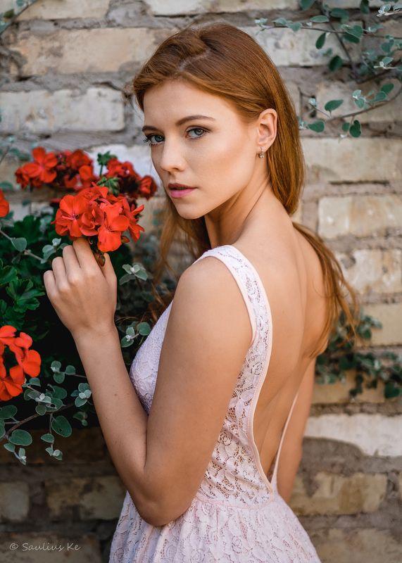 girl, female, pretty, portrait, redhead Gintarephoto preview