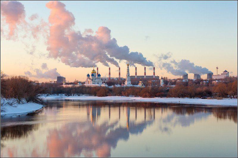 россия, московская обл, дзержинский Здесь делают облака :)photo preview