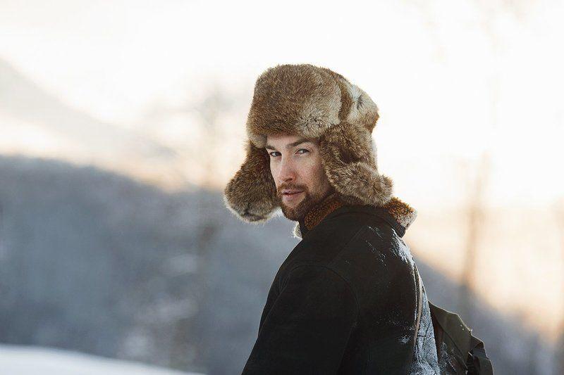 canon, dog, man, photo, photography, portrait, snow, travel, winter, зима, мужчина, портрет, путешественник, снег, собака, фото, хаски Артемphoto preview