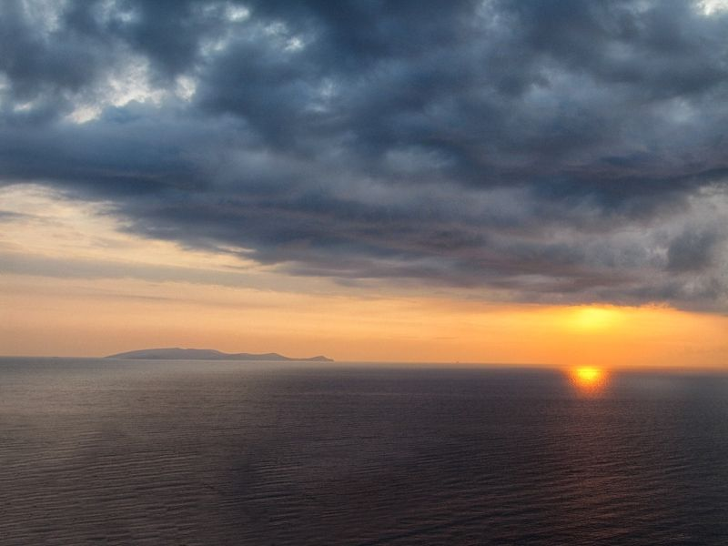 crete, sunrise, clouds, sky landscape Greetings from Eosphoto preview