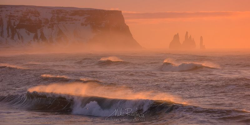 vik, basalt, nature, iceland, photography, sky, sea, motion, pink, surf, storm, horizontal, speed, outdoors, scenic, no people, reynisdrangar, horizon over wate,r reynisfjara, breaking waves, power in nature, south central iceland Солнечный Ветерphoto preview