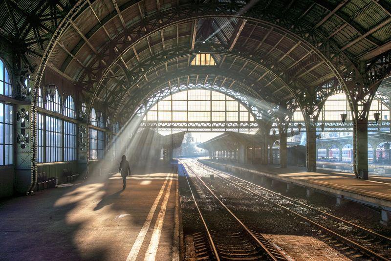 Санкт-Петербург.Витебский вокзал...photo preview