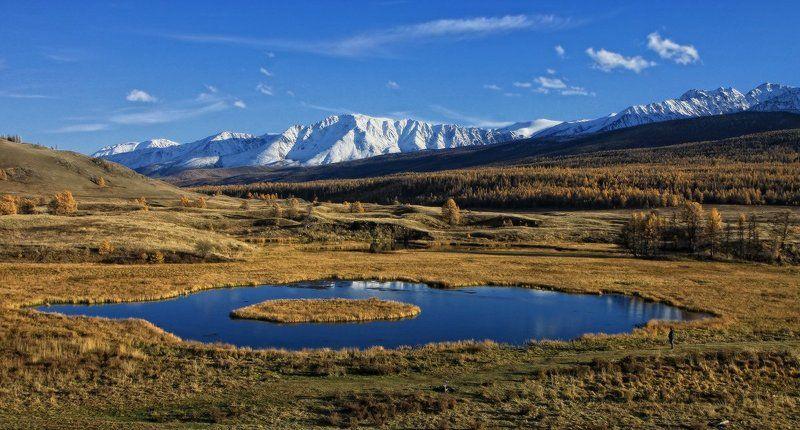 алтай, горный алтай, плато ештыкёль, озеро джангыскёль, куркуре Островокphoto preview